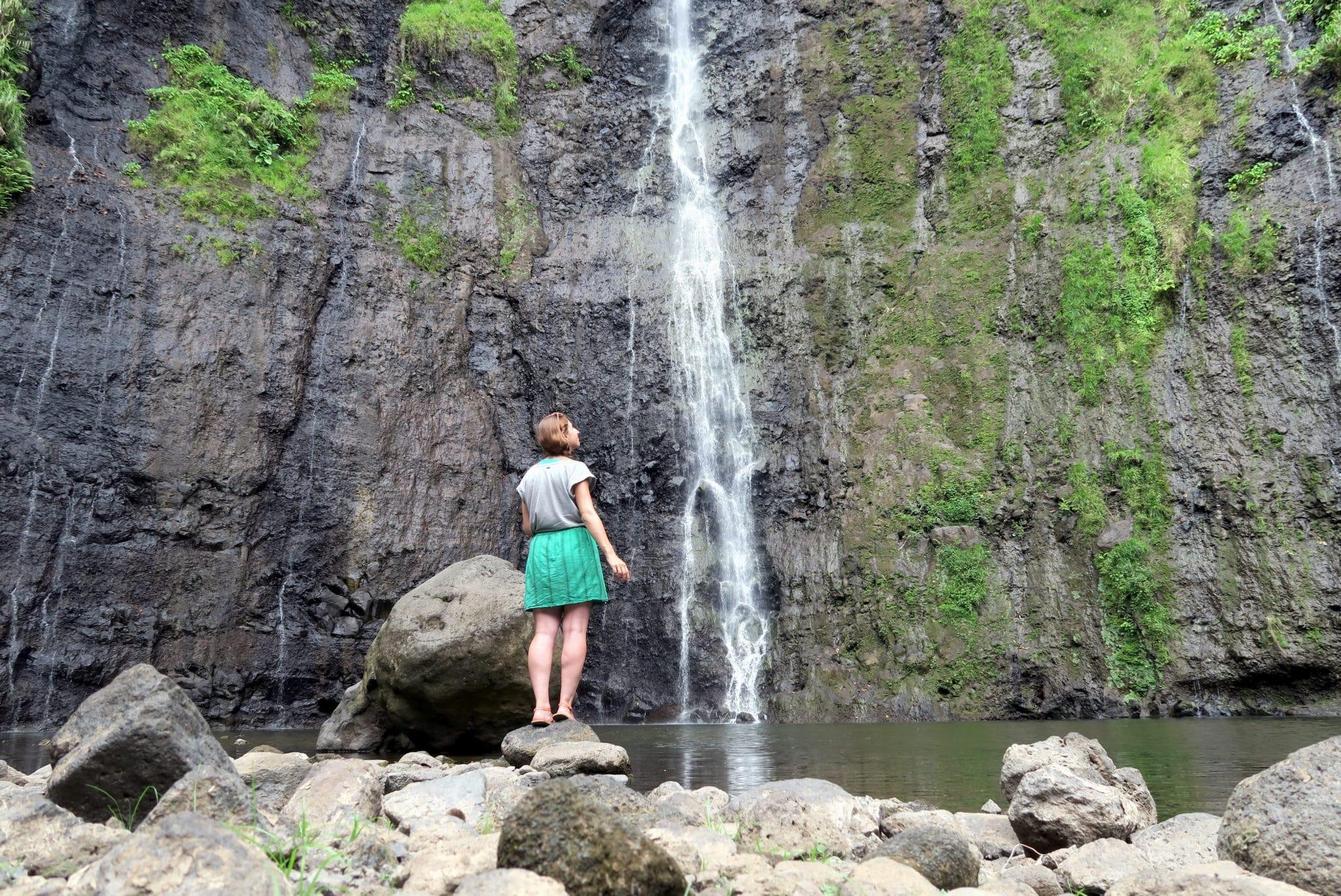 Faarumai waterfalls Tahiti