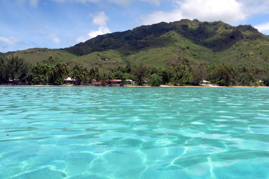Moorea lagoon French Polynesia