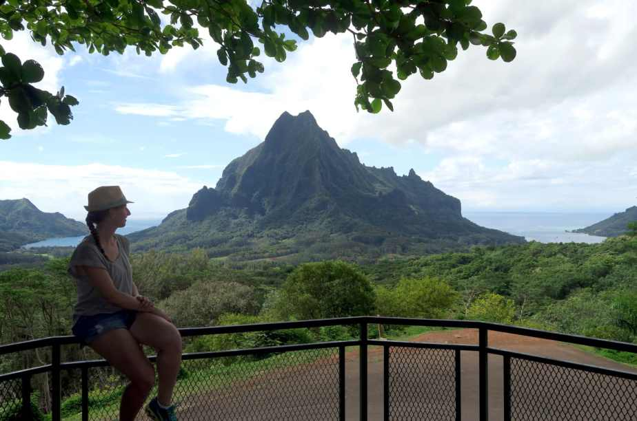 Mount Rotui Belvedere Moorea French Polynesia