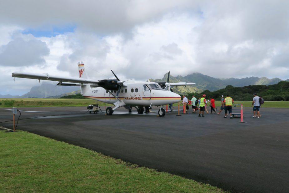 Atuona Airport Hiva Oa Marquesas Islands French Polynesia
