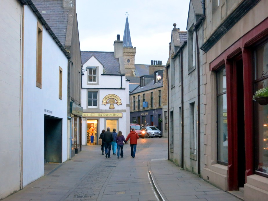Stromness town centre Orkney Scotland