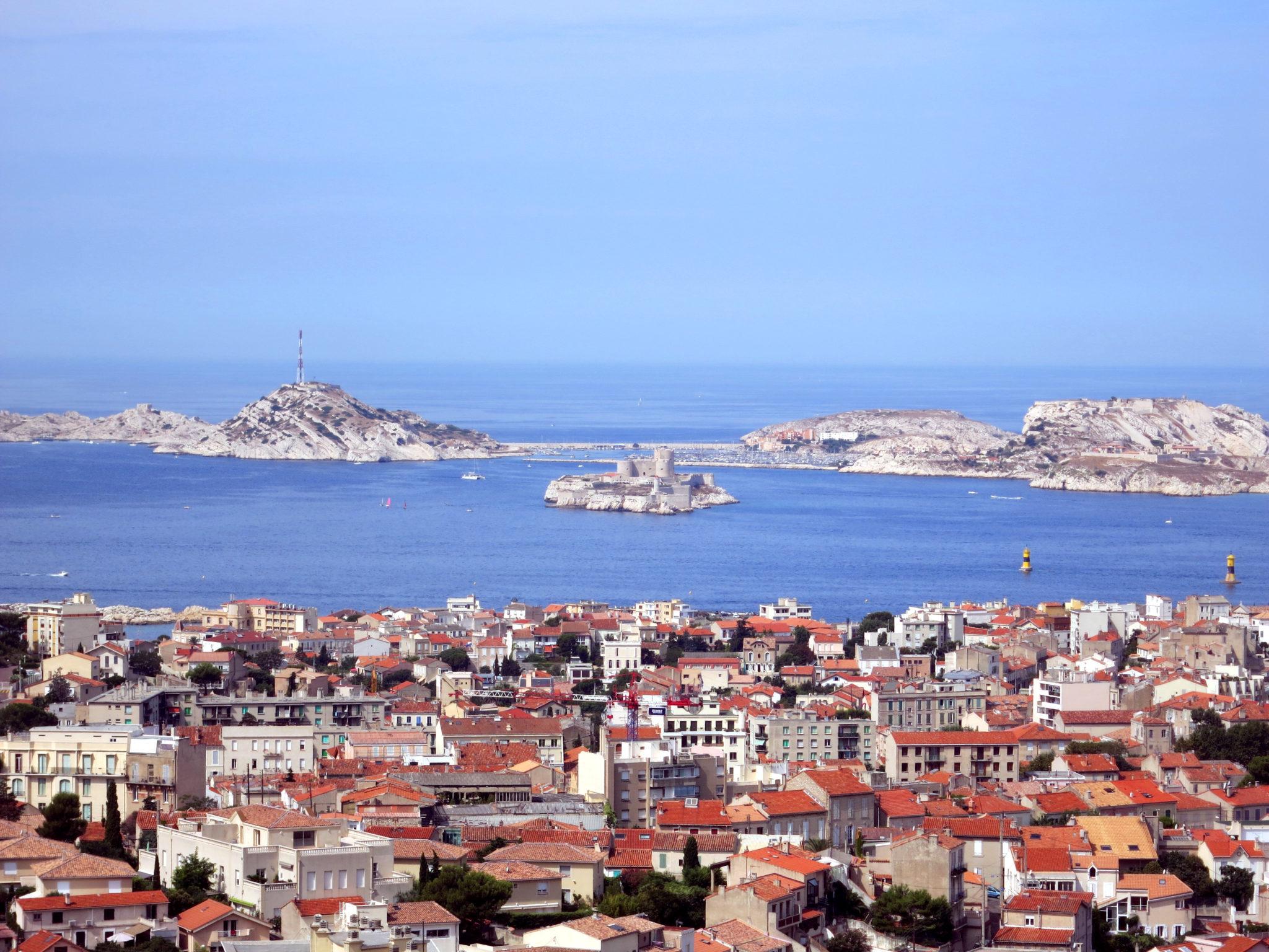 Vue Basilique Marseille
