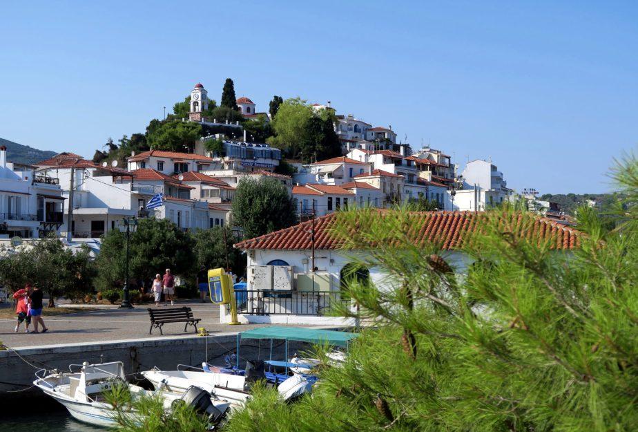 Skiathos Harbour - island hopping Sporades