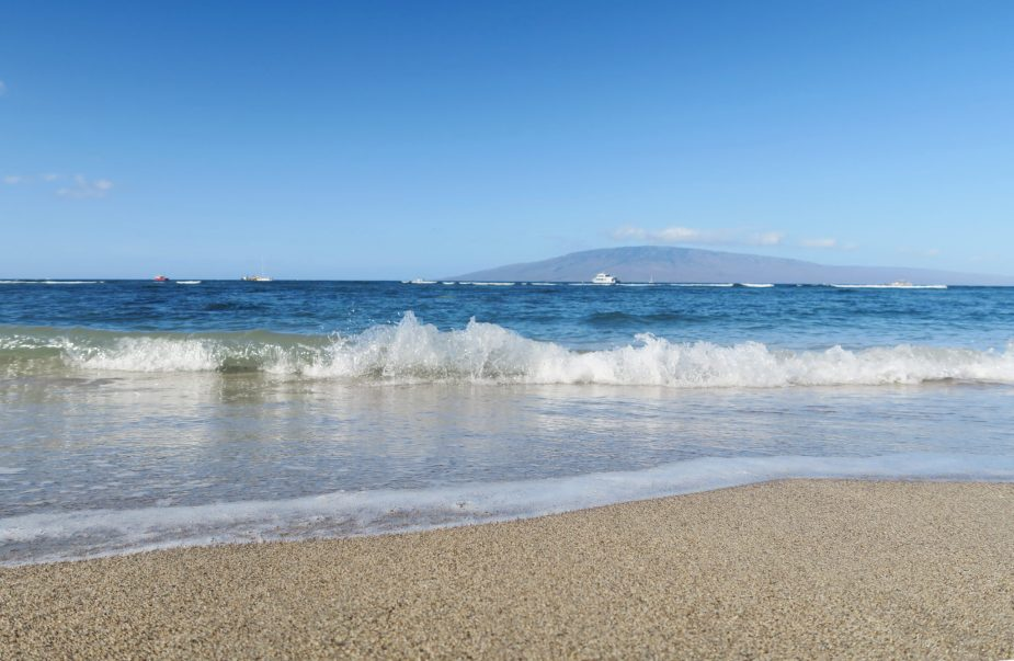 Lahaina Beach Maui Hawaii