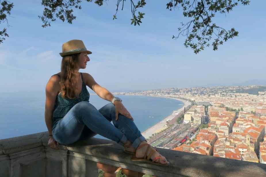 Vue de la colline du chateau - Nice
