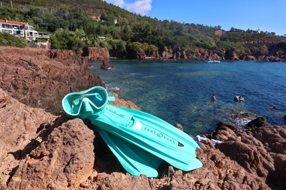 Snorkelling à la Calanque de Maupas - Estérel