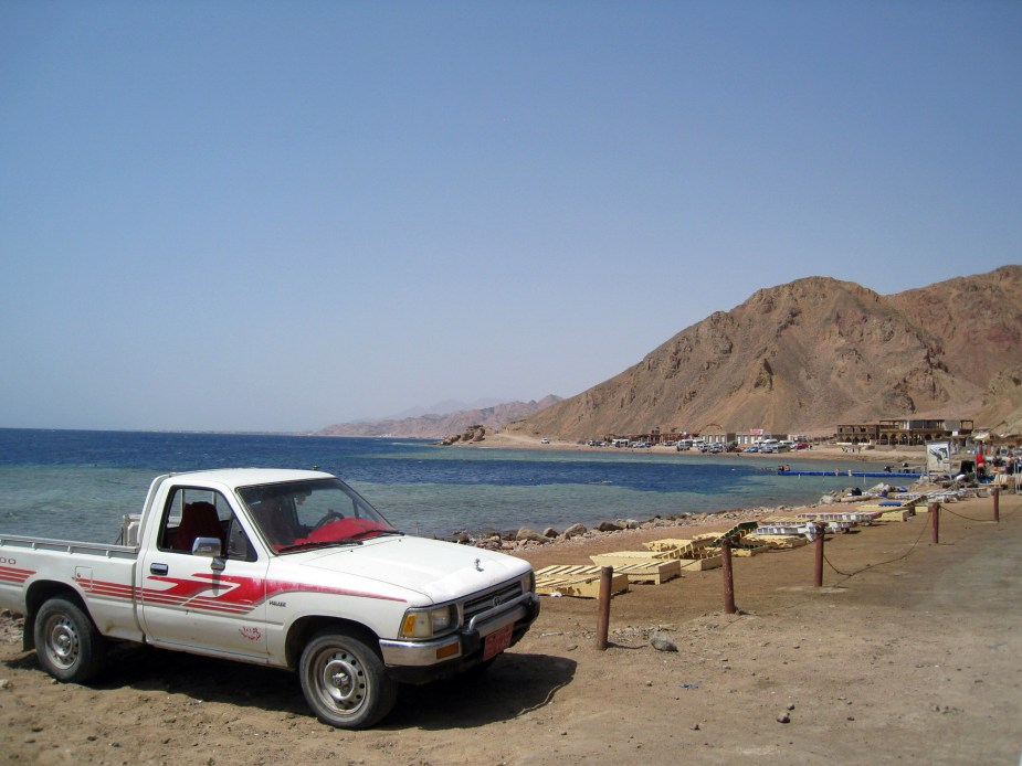 Diving in Dahab Egypt - cheapest diving destinations
