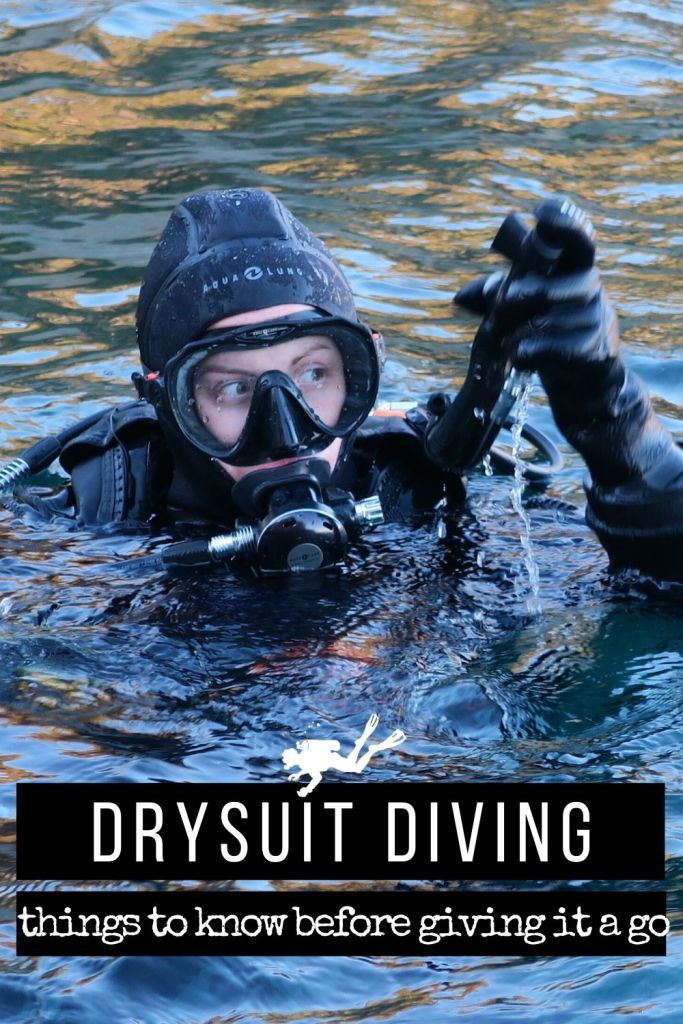 Drysuit diving - things to know before giving it go