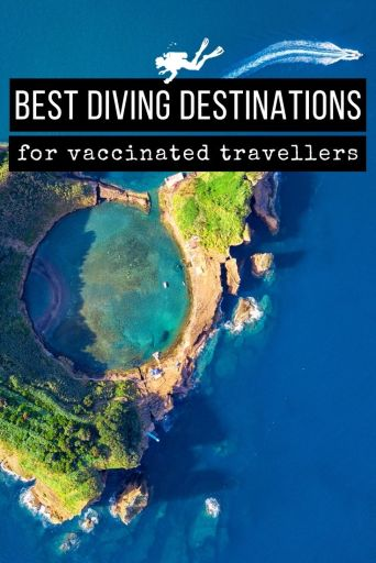 best diving destinations for vaccinated travellers