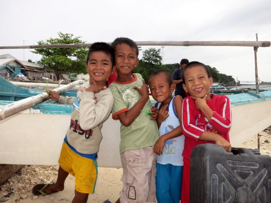 Playing with Kids Malapascua Philippines
