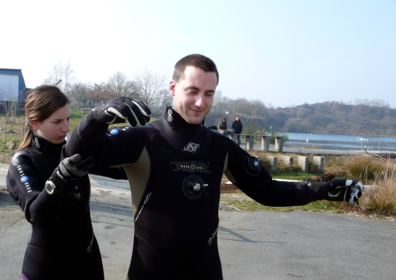 Drysuit tour Aqualung France