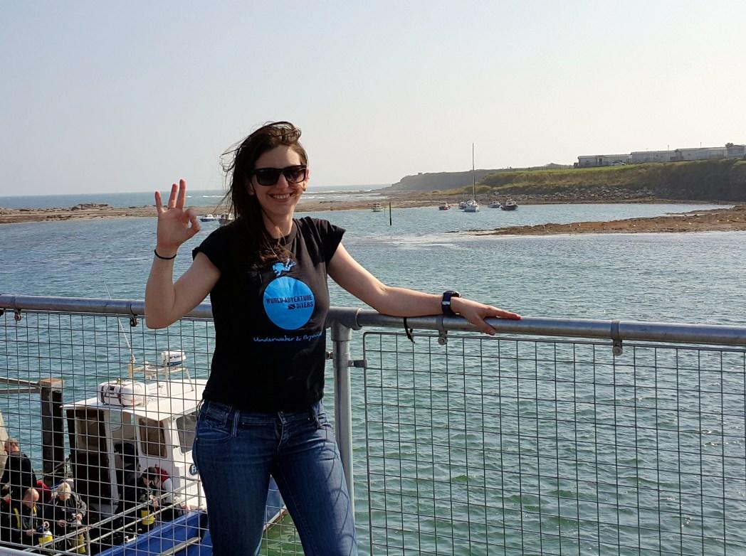 Florine World Adventure Divers Seahouses England UK