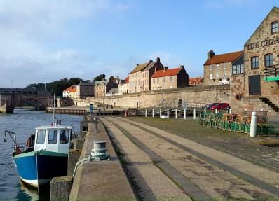 Berwick-upon-Tweed Quay England UK