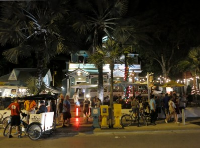 Key West by night Florida USA