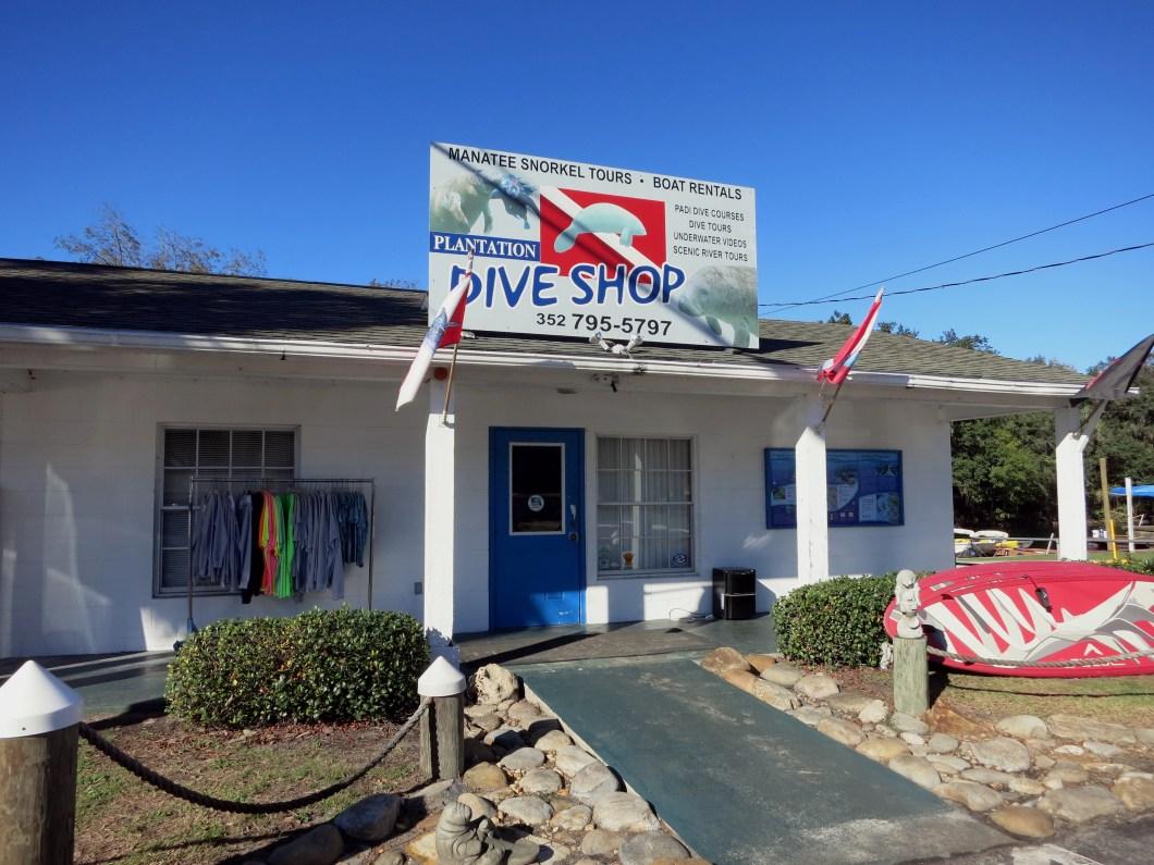 Plantation Dive Shop Crystal River Florida USA