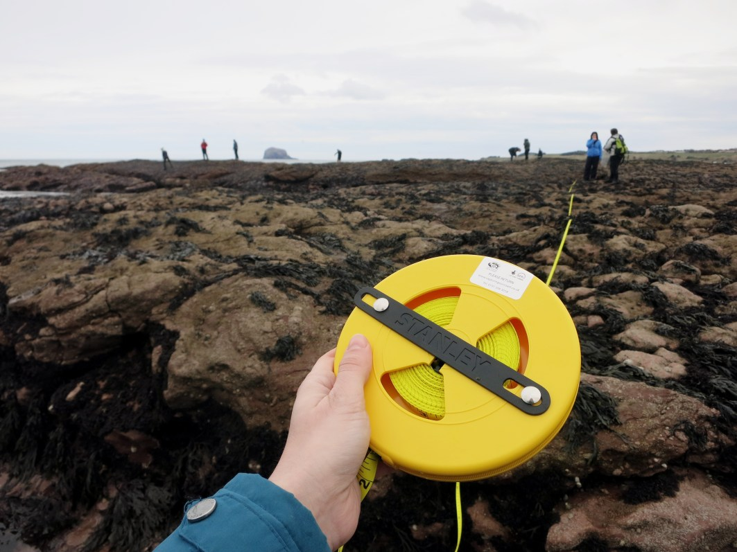 Capturing our Coast training North Berwick Scotland