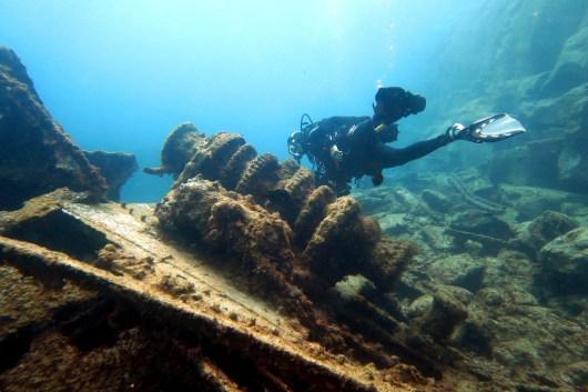 El condesito shipwreck scuba diving Tenerife Canary Islands