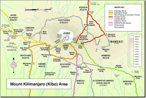The Routes of Kilimanjaro (1/6)