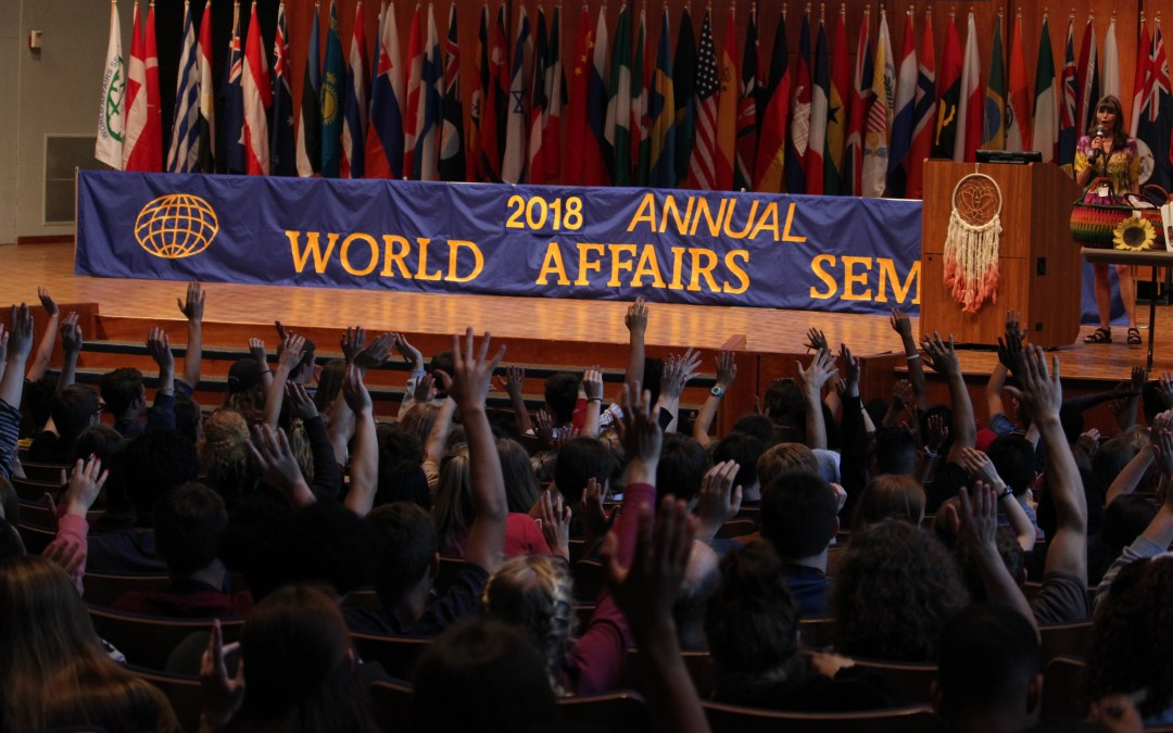 Welcome to World Affairs Seminar 2018