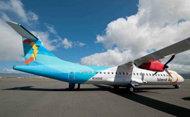 Island Air Takes Delivery Of Its First Atr 72 And