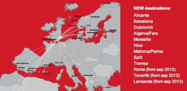 Norwegian to add two new routes to Alicante Spain