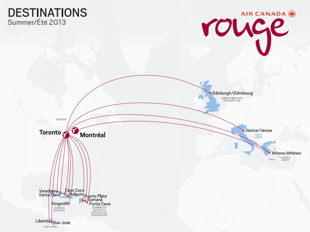 Air Canada rouge unveils its uniforms  World Airline News