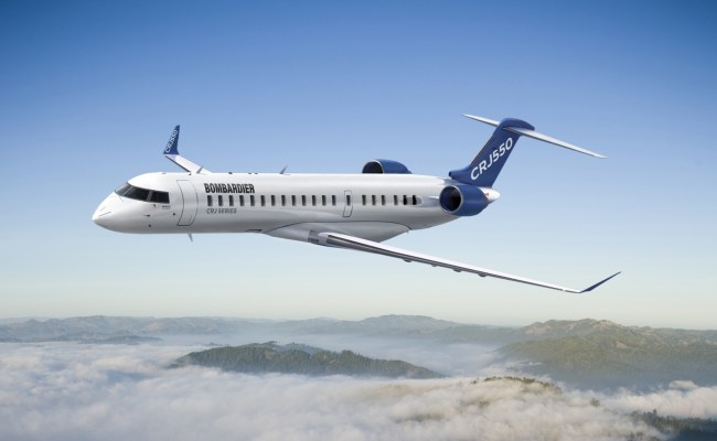 Bombardier Launches A New 50 Seat Airliner The Crj550