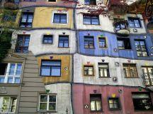 Vienna Architecture Austria Hundertwasser Haus Facade ...