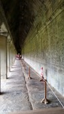 Angkor Wat's outer walls are covered in impressive alabaster bas reliefs