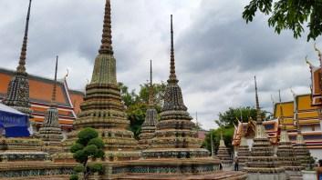 Stupas in Wat Pho