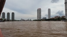 View of the city from the Chao Phraya river