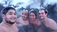 Frozen hair, warm bodies. Gotta love Alaska!