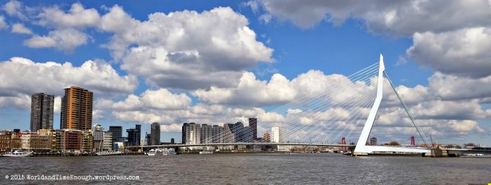 The skyline of Rotterdam: what a view!