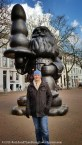 """Also known as """"Buttplug Gnome"""" for obvious reasons, the Santa sculpture is only one of Rotterdam's excellent collection of public art."""