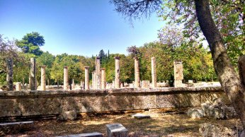 Another angle on the Temple of Zeus