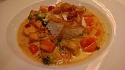 Lemongrass tofu curry. Kinda lame.