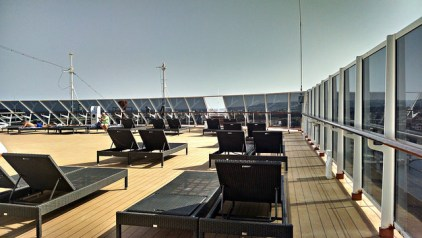 Tired of being cooped up? Come up to the sun deck.