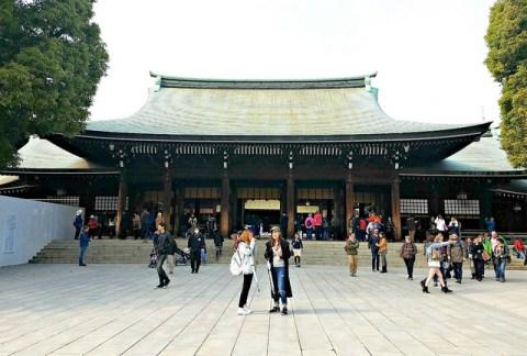 The main shrine building.
