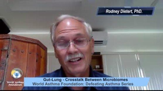 Gut and Lung crosstalk interview with Rodney Dietert.