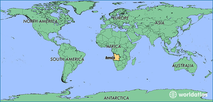 Where Is Angola?  Where Is Angola Located In The World