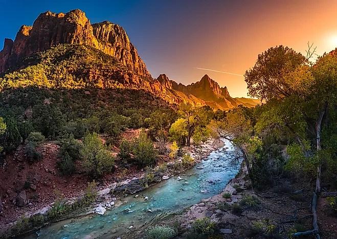 Colorado Fall Desktop Wallpaper Zion National Park Utah Unique Places Around The World