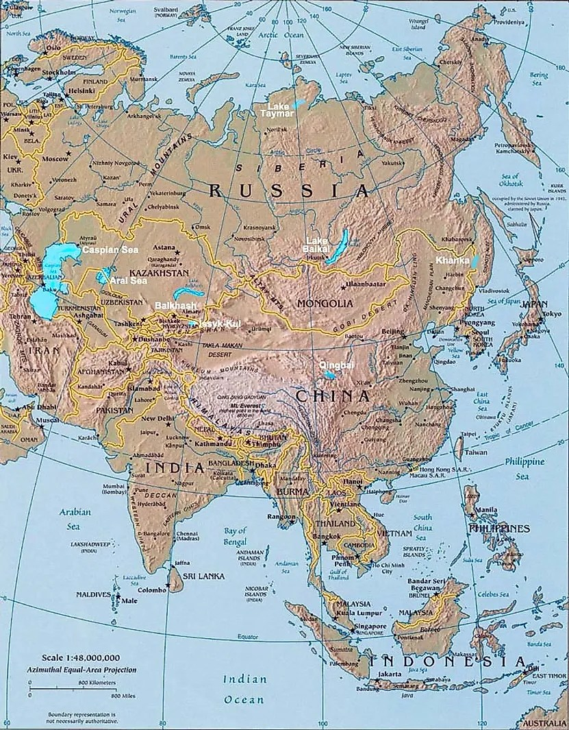 Category:Bodies of water of Asia - Simple English
