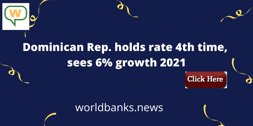 Dominican Rep. holds rate 4th time