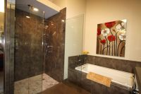 Master bathroom remodel with cabins of glass | Bathroom ...