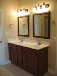 Double sink bathroom vanity, 72