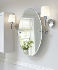 Tilting bathroom mirror: how to choose and save its beauty ...