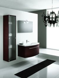 Contemporary bathroom cabinets