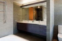 Large bathroom mirror: 3 design ideas