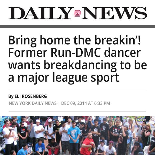 Daily News World Bboy Battle
