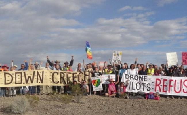Shut Down Creech Mass Mobilization To Stop Drone Wars